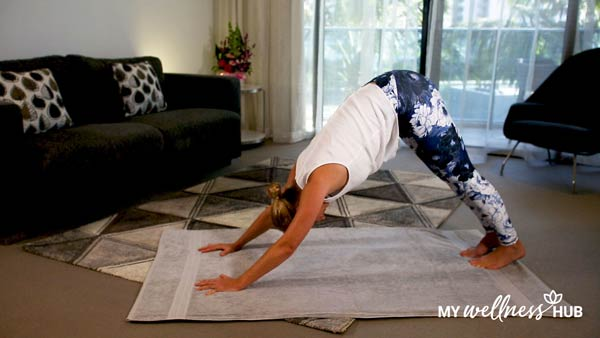 Yoga video - My Wellness Hub